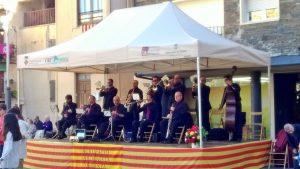 X Diada Amics de la sardana...Cobla Ciutat de Girona